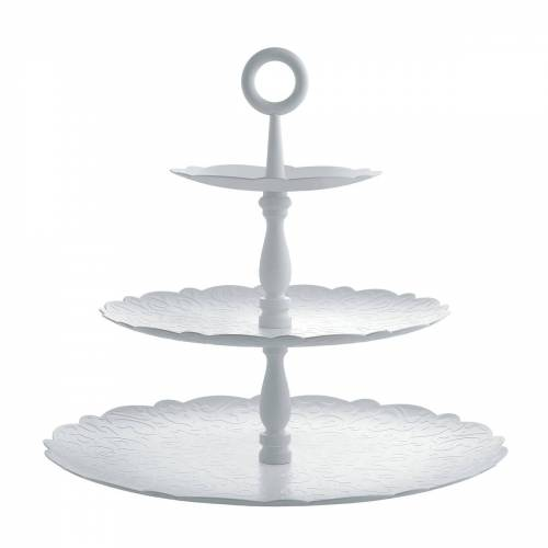 Alessi - Dressed for X-Mas, Etagere, 3 Ebenen / weiß
