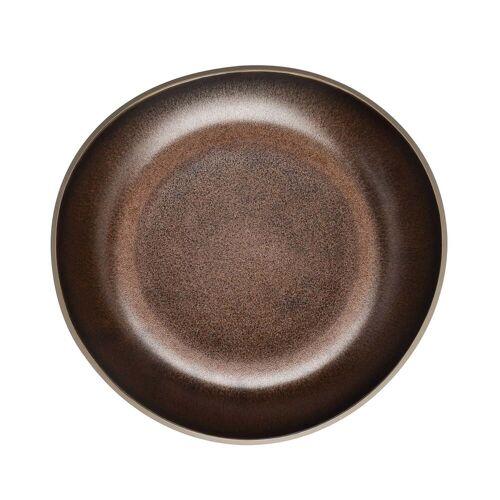 Rosenthal - Junto Teller Ø 22 cm tief, bronze