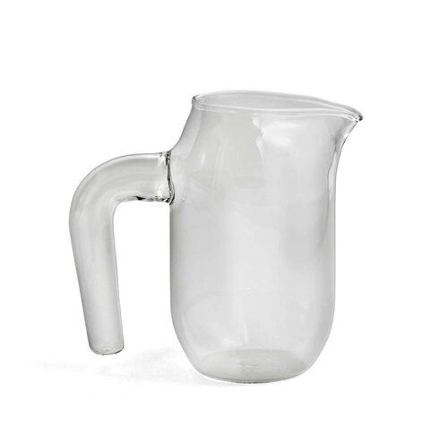 HAY - Glaskrug small, H 16,5 cm, klar
