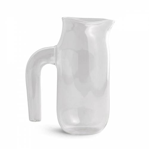 HAY - Glaskrug large, H 20,5 cm, klar
