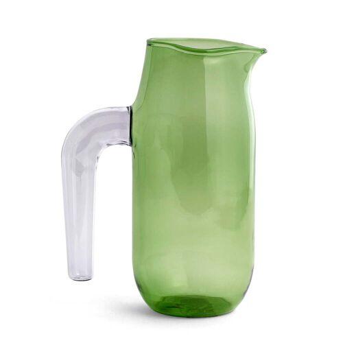 HAY - Glaskrug large, H 20,5 cm, grün