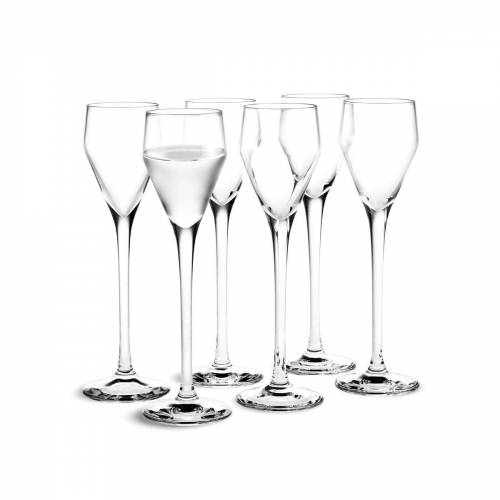 Holmegaard - Perfection Schnaps-Glas, 5,5cl (6er-Set)