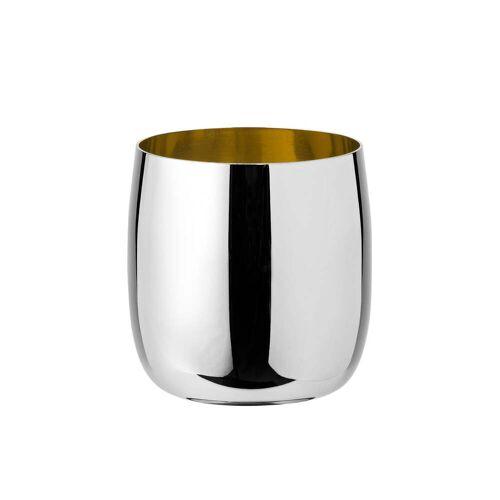 Stelton - Foster Weinglas 0,2 l, Edelstahl / gold