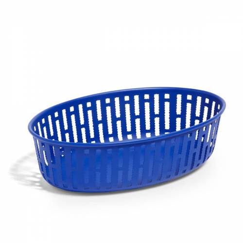 HAY - Panier Brotkorb Oval, bright blue