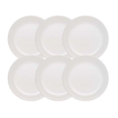 Stöckli - Tradition Fondueteller, Ø 21 cm / weiß (6er-Set)