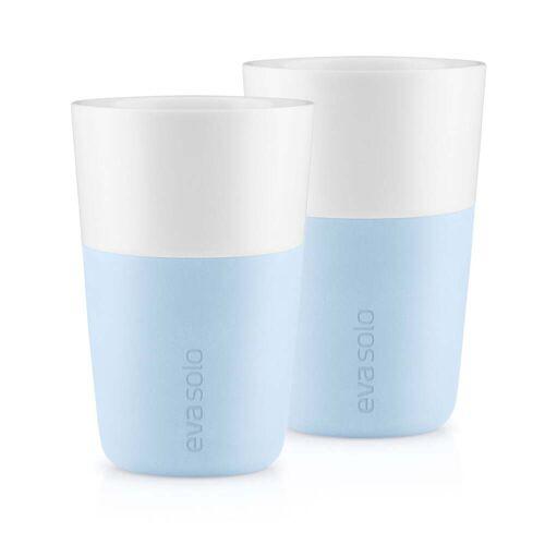 Eva Solo - Caffé Latte-Becher (2er-Set), soft blue