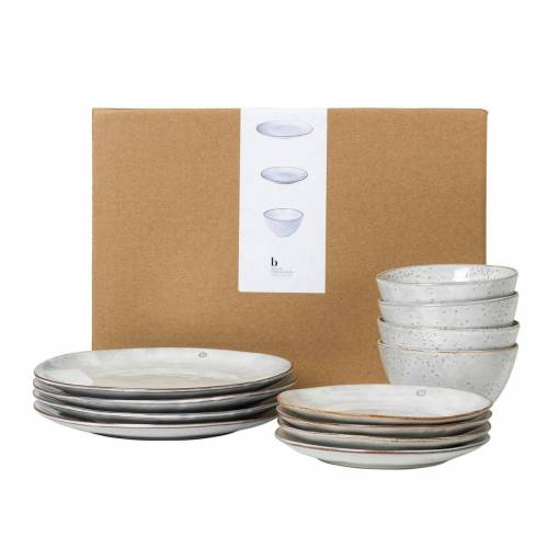 Broste Copenhagen - Nordic Sand Geschirr Dinner-Set