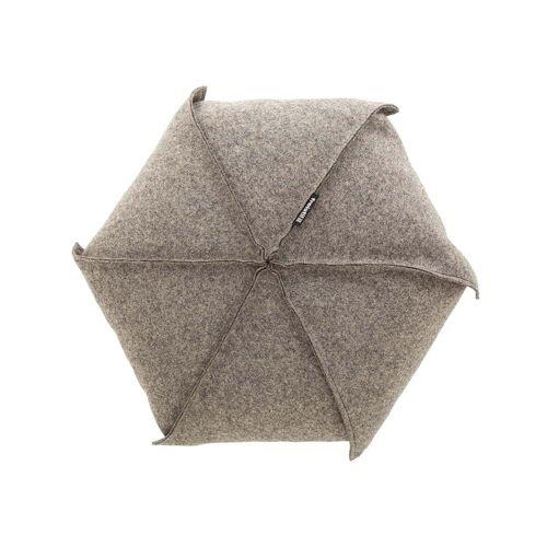 freistil - 179 Kissen Ø 48 cm, beigegrau (7404)