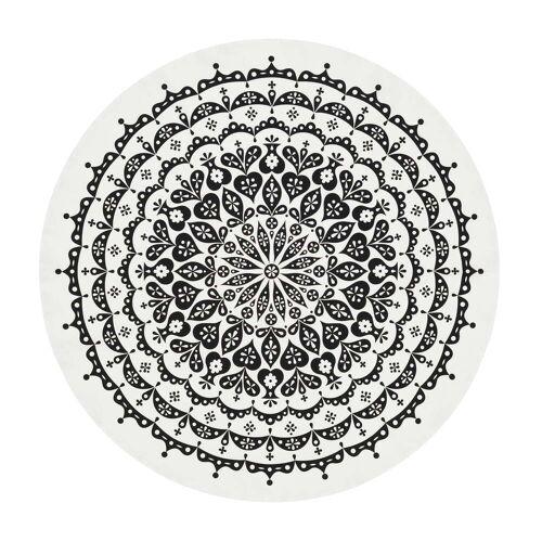 Vitra - Tischdecke Ø 130 cm, Lace / schwarz