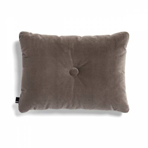 HAY - Kissen Dot Soft, 45 x 60 cm, warm grey