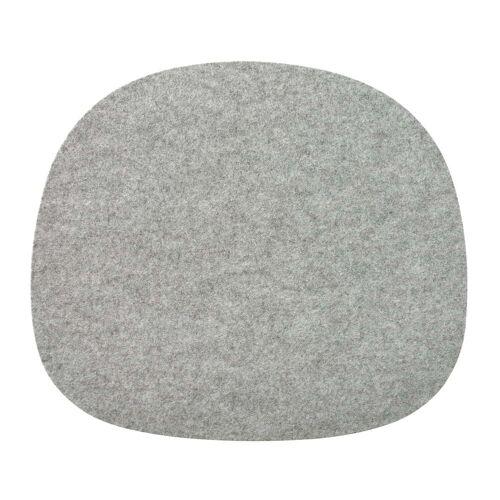 Connox Collection - Filz Sitzkissen rutschfest, grau meliert (170)