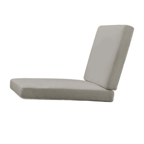 Carl Hansen - Sitzauflage für BK10Gartenstuhl, Sunbrella charcoal 54048