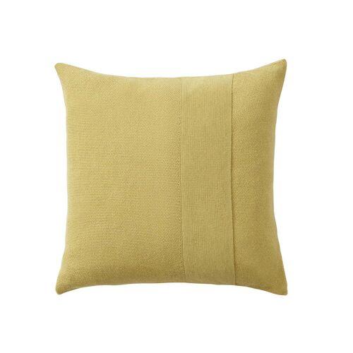 Muuto - Layer Kissen, 50 x 50 cm, gelb