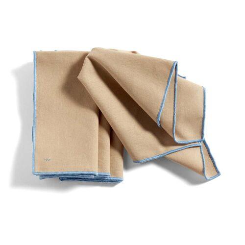 HAY - Contour Serviette, 40 x 40 cm, beige (4er-Set)