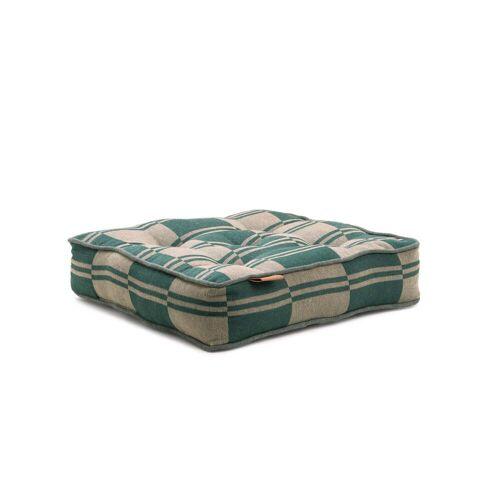 Juna - Outdoor Colour Sitzkissen 40 x 8 x 40 cm, grün / beige