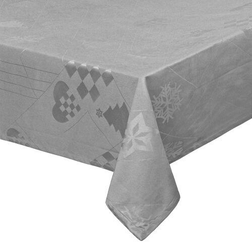Juna - Natale Tischdecke 150 x 220 cm, grau