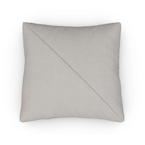 Sit with us - Kissen Up, 60 x 60 cm, Stoff Fino, beige