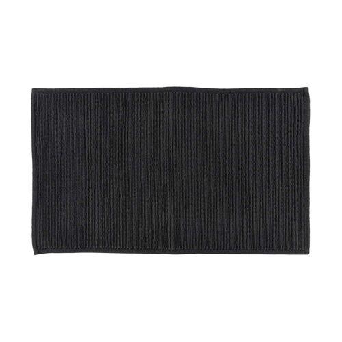Södahl - Plissé Badezimmermatte, 50 x 80 cm, schwarz
