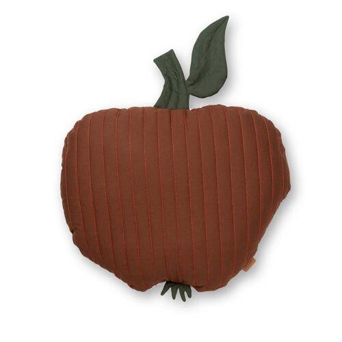 ferm LIVING - Apfel Kinderkissen, 45 x 49 cm, zimtrot