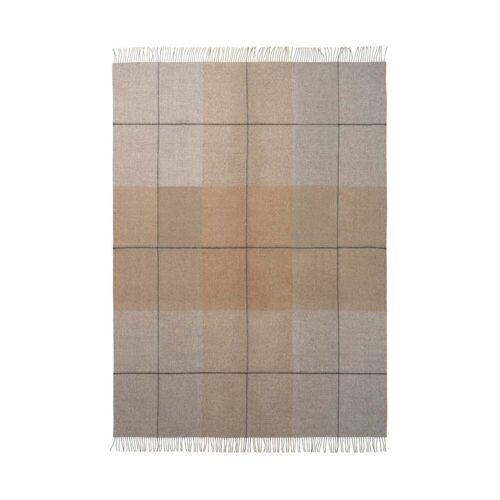 Elvang - Blocks Decke, 130 x 190 cm, kamel / grau
