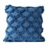 Bloomingville - Gathering Kissen, L 45 x W 45 cm, blau