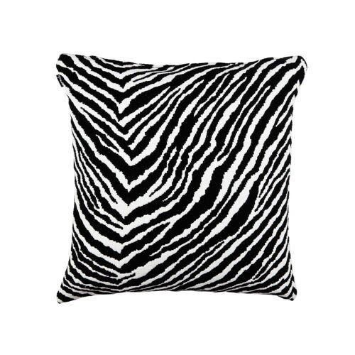 Artek - Zebra Kissenbezug 50 x 50 cm, schwarz / weiß