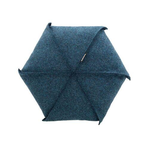 freistil - 179 Kissen Ø 48 cm, grünblau (7406)