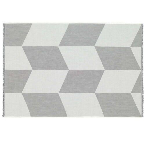 Muuto - Sway Wolldecke, schwarz / weiß