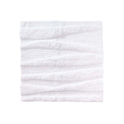 Zone Denmark - Flow Badezimmermatte, 65 x 65 cm, weiß