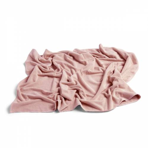 HAY - Frotté Badetuch, 100 x 150 cm, rosa