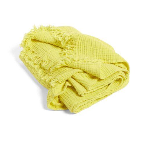 HAY - Crinkle Wolldecke, gelb