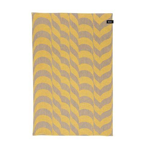 Iittala - Aalto Geschirrtuch, 47 x 70 cm, leinen / gelb