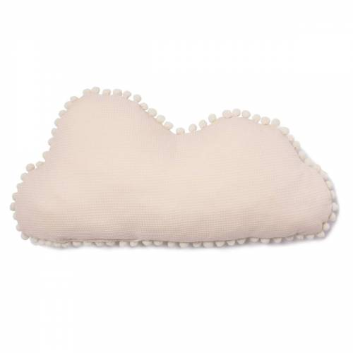 Nobodinoz - Cloud Marshmallow Kissen, 30 x 58 cm, dream pink