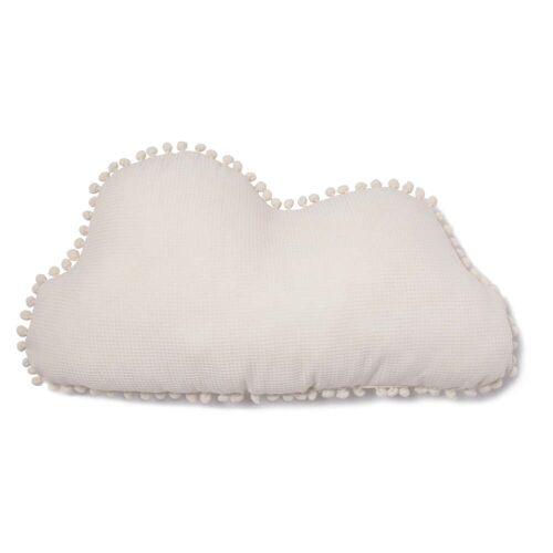 Nobodinoz - Cloud Marshmallow Kissen, 30 x 58 cm, natur