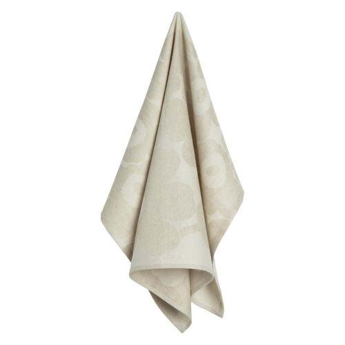 Marimekko - Pieni Unikko Geschirrtuch, off-white / beige