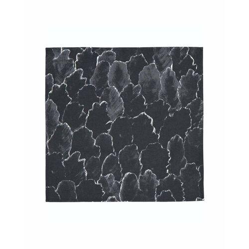 Marimekko - Käpykangas Serviette 45 x 45 cm, dunkelgrau / weiß