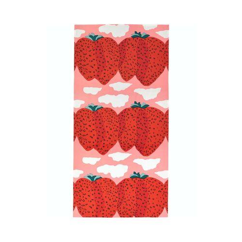 Marimekko - Mansikkavuoret Tischdecke 140 x 280 cm, pink / rot