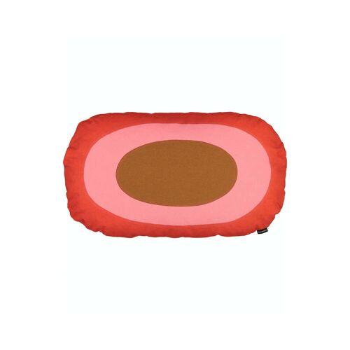 Marimekko - Melooni Kissen, rot / braun