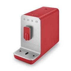 SMEG - Kaffeevollautomat BCC01 Basic, 50's Retro Style, rot matt