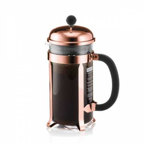Bodum - Chambord Kaffeebereiter 1 l, Kupfer