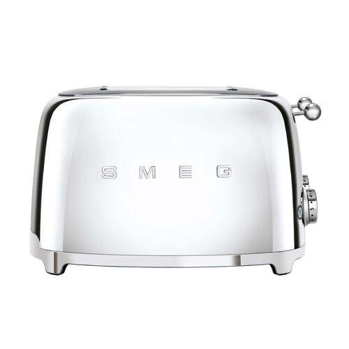SMEG - 4-Scheiben Toaster TSF03, Chrom