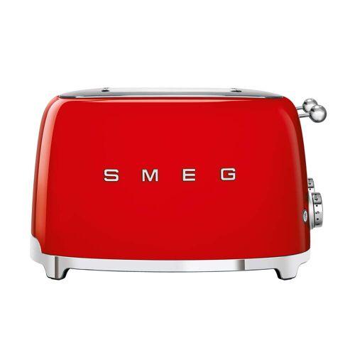 SMEG - 4-Scheiben Toaster TSF03, rot
