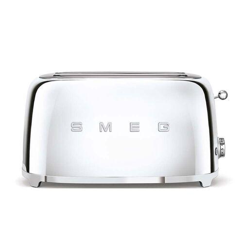SMEG - 2-Schlitz ToasterTSF02, lang / Chrom