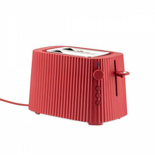 Alessi - Plissé Toaster, rot