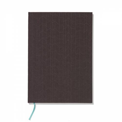 Vitra - Notizbuch Hardcover A4, anthrazit / mint