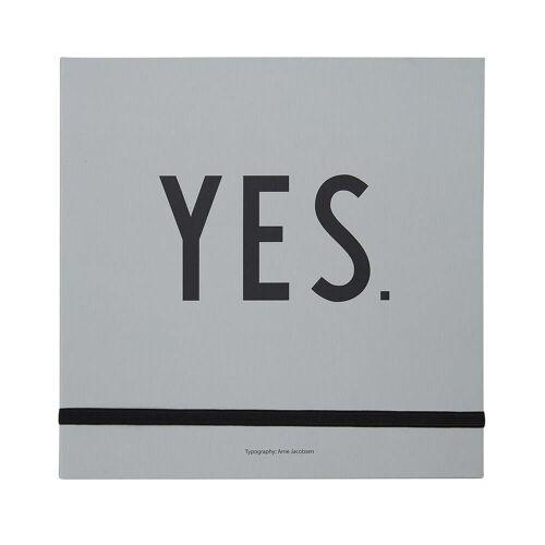 Design Letters - Hochzeitsbuch, grau (Sprache: Englisch)