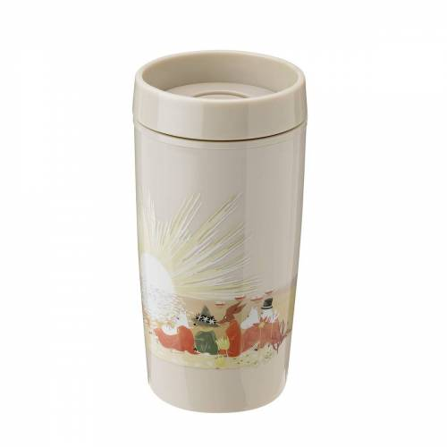 RIG-TIG by Stelton - Bring-It Moomin To-Go Becher 0.34 l, sand