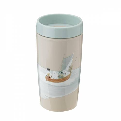 RIG-TIG by Stelton - Bring-It Moomin To-Go Becher 0.34 l, dusty green