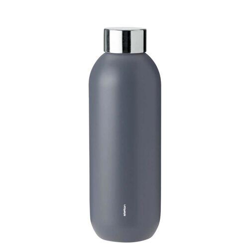 Stelton - Keep Cool Trinkflasche 0,6 l, granitgrau
