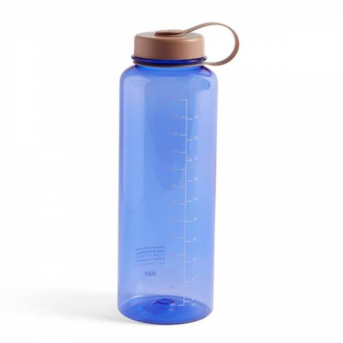 HAY - Wasser-Flasche, 1,5 l, blau